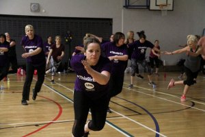 Women dance their way to fitness
