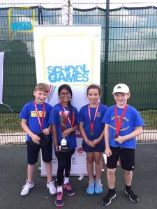 West Leicester volley into first court in the School Games Tennis Super Series Finals!