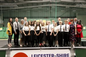 Team Leicestershire County Champions celebrated at Awards Evening