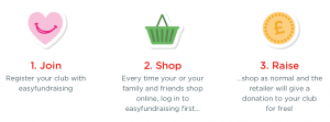 Raise free funds for your sports club with Easyfundraising!