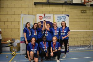 Melton & Belvoir and Blaby & Harborough claim victories at the KS4 School Games Volleyball Finals!