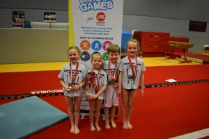 An Amazing Array of Talent Displayed at the School Games Super-Series Gymnastics Final!