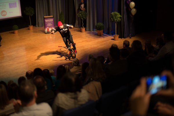 Performance by Freestyle BMX UK Champion Keelan Phillips
