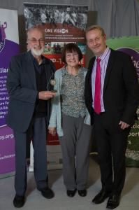 Active for Life Award Winners Pauline and John Osband