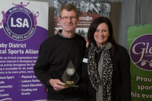 Volunteer of the Year Winner Barry Hibberd