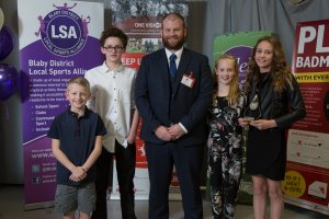 Young Sports Team of the Year Winners Leicester Sharks