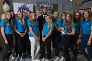 Young Sports Team of the Year Runners Up Thomas Estley Girls Football Team