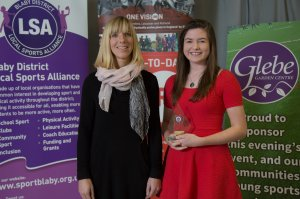 Young Sports Person of the Year Runner Up Lizzie Warner