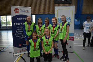 Hinckley & Bosworth Claim Double Victories at the Year 7 & 8 Sportshall Athletics Final!