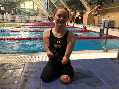 Para-swimmers show form at National Championships