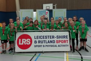 Blaby & Harborough Sprint their way to a Second Year Victory at the School Games Sportshall Athletics Final
