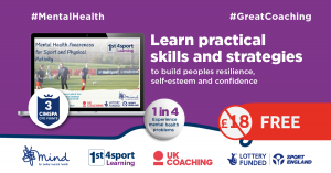 Essential mental health training now free for the nation's coaches